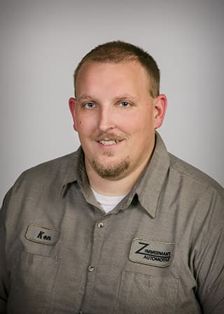 Zimmerman's Automotive | Ken Mckean - Assistant Service Manager