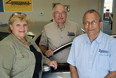 Zimmerman's Automotive | Ownership Team