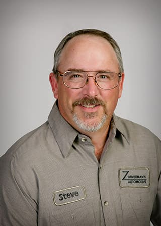 Zimmerman's Automotive | Steve Sheriff - Service Manager