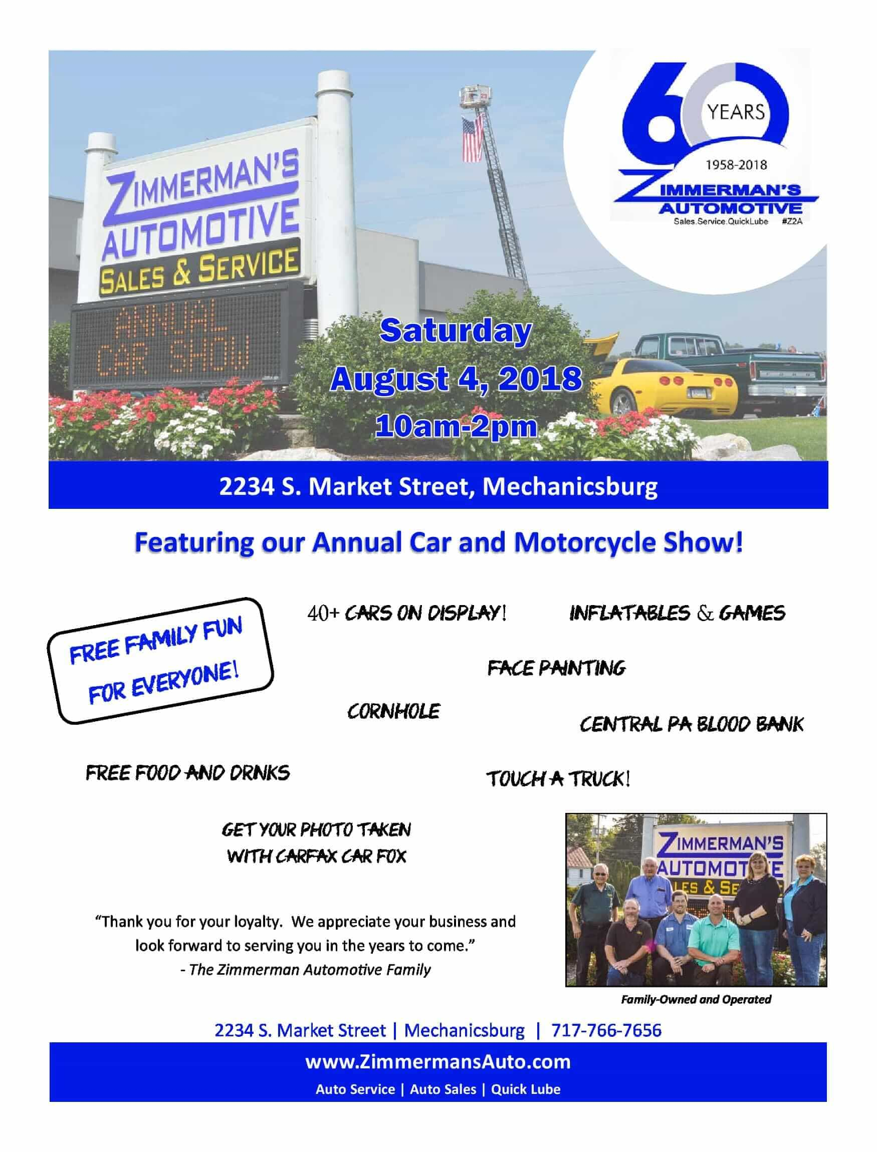 Annual Car and Motorcycle Show